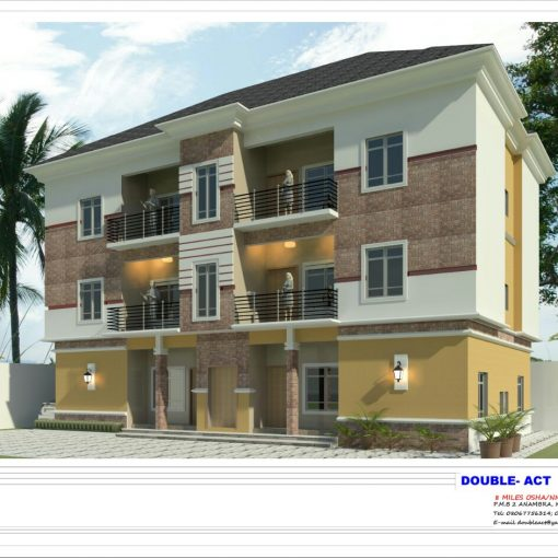 Two Storey Building of Triple Flat (Double Flat of two